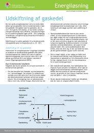 Udskiftning af gaskedel - Videncenter for energibesparelser i ...