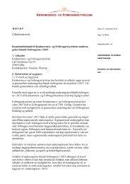Udbudsmateriale Konsulentbistand til Konkurrence- og ...
