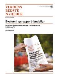 Evalueringsrapport (endelig) - NGO Forum