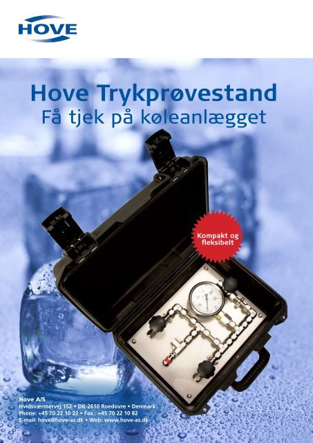Hove Trykprøvestand - Hove A/S