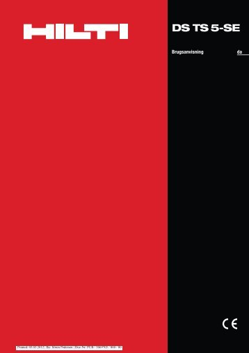 Adobe Acrobat fil 1.4 MB dansk - Hilti Danmark A/S