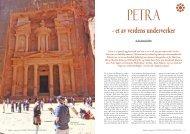 Petra - et av verdens underverker - Ildsjelen