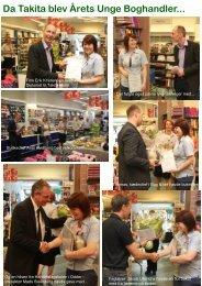 Da Takita blev Årets Unge Boghandler... - Boghandlerforeningen