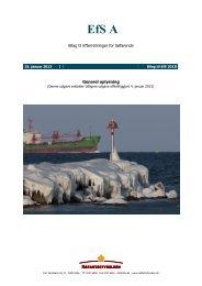 EfS A 2013 DK Udgave 2 - Søfartsstyrelsen