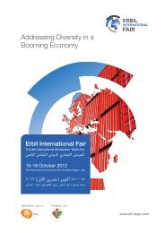 Addressing Diversity in a Booming Economy - Erbil International Fair