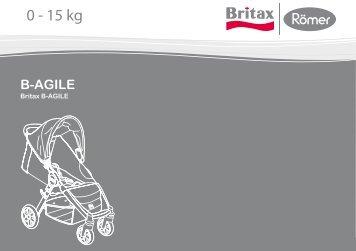 0 - 15 kg B-AGILE - Britax-roemer.com