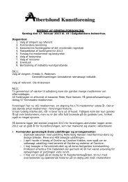 Referat af generalforsamling søndag den 17. februar 2013