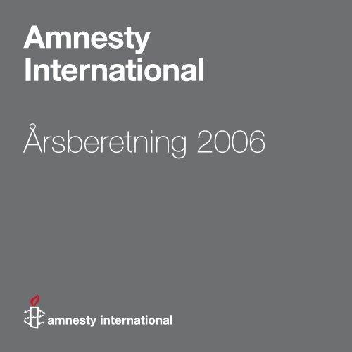 Amnesty International Årsberetning 2006