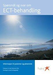 Spørsmål og svar om ECT-behandling - Lundbeck