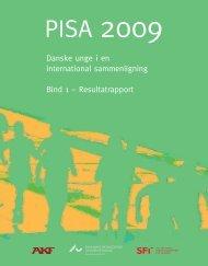 Danske unge i en international sammenligning Bind 1 - Institut for ...