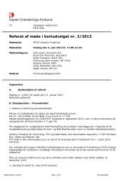 Referat nr. 2/2013 - Kort - Dansk Orienterings-Forbund