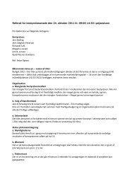 Referat fra bestyrelsesmøde den 24. oktober - Gilleleje Golfklub