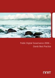 Public Digital Governance 2006 – Dansk Best Practice