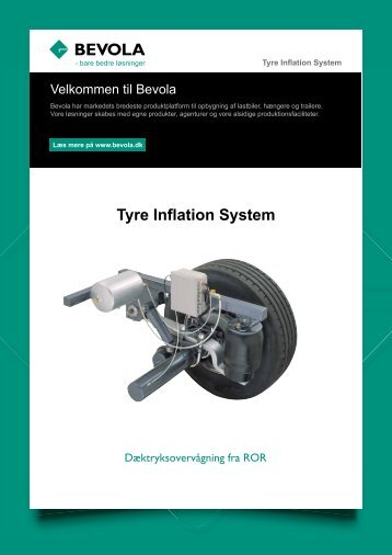 Tire Inflation System - Bevola
