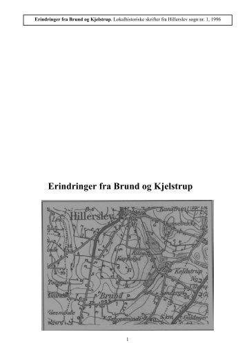 Erindringer fra Brund og Kjelstrup 1 1996.pdf - Thisted Museum