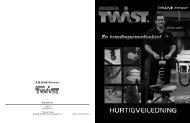 AB DOER TWIST™ Manual - Tvins