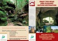enjoy this near and pleasant nature destination