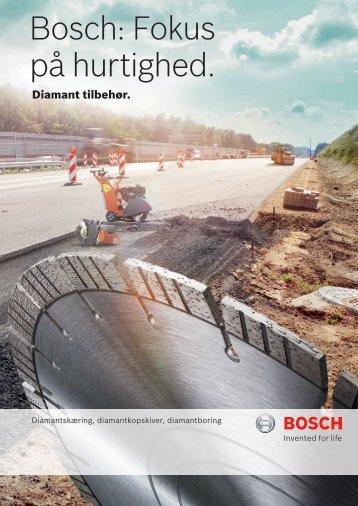 Bosch: Fokus på hurtighed.
