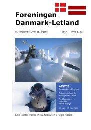 Blad nr. 4 - 2007 - Foreningen Danmark - Letland