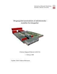 Kapitel 1 - Danmarks Tekniske Universitet