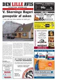 V. Skerninge Bageri genopstår af asken - Isager Bogtryk
