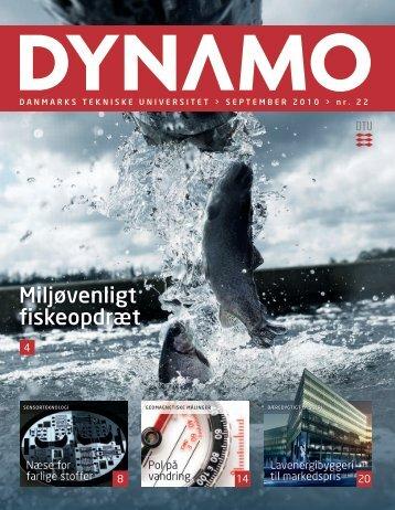 Miljøvenligt fiskeopdræt - Danmarks Tekniske Universitet