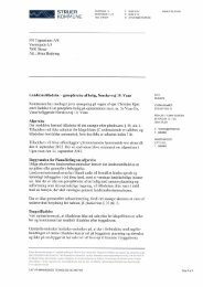 Landzonetilladelse - genopførelse af boliig ... - Struer kommune