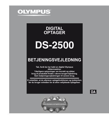 Optagelse - Olympus