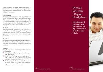 Digitale lønsedler i Region Nordjylland