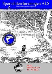 Oktober 2011 - Sportsfiskerforeningen ALS
