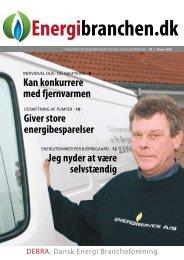 Energibranche.dk nr. 1/09 - Dansk Energi Brancheforening
