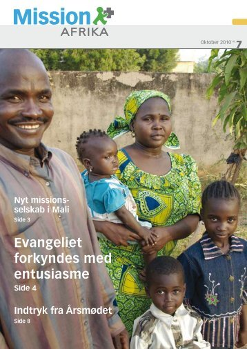 Nr. 7 - Sept-/oktober - Mission Afrika