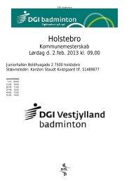 Holstebro Badminton Klub