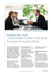 OptiNordic ApS - Mamut