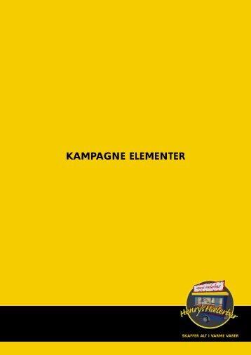 KAMPAGNE ELEMENTER