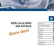 DEN LILLE BOG OM AFFALD - Frederiksholm