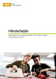 Håndarbejde - Arbejdsmiljoweb.dk