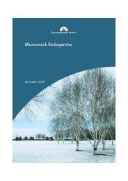 Økonomisk Redegørelse · December 2005 - Finansministeriet