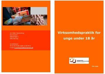 Virksomhedspraktik for unge under 18 år - UU Odder Skanderborg
