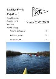 Vinter 2007/08 - Roskilde Kajakklub