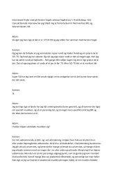 Interviewet finder sted på Karsten Vogels adresse Asgårdsvej 7 ...