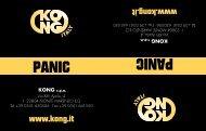 panic panic - Kong