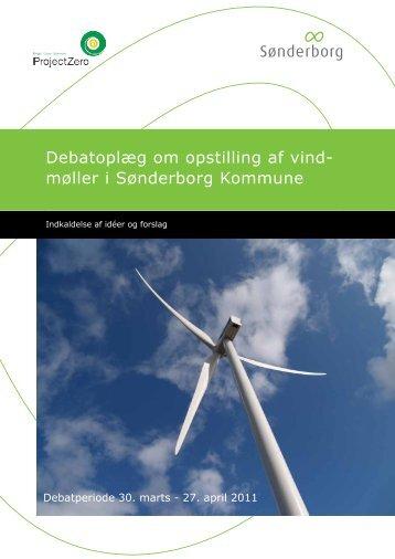 Debatoplæg om opstilling af vind- møller i ... - Sønderborg.dk