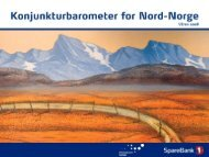 Presentasjon KB - Konjunkturbarometer for Nord-Norge