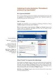 Vejledning til online blanketten - Danmarks Statistik