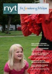 Hent NYT, juni 2009 - Frie Børnehaver og Fritidshjem