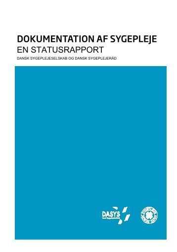 Dokumentation af sygepleje 20 opsat - DaSyS