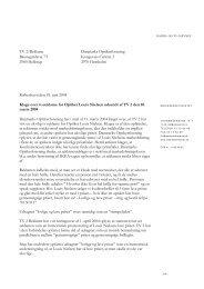 Klage over ulovlig tv-reklame for Optiker Louis - Kulturstyrelsen