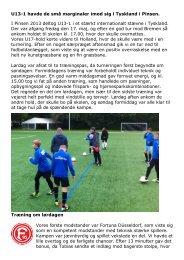 Turnering i Bremen pinsen 2013 - Randers Sportsklub Freja