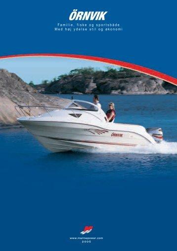 Familie, fiske og sportsbåde Med høj ydelse stil og økonomi - Mercury